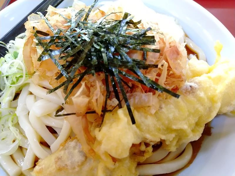 山田うどん食堂で頂いたお料理