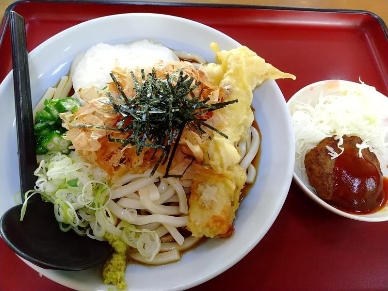 山田うどん食堂の「冷やし五目うどん」