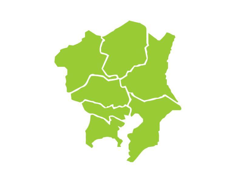 関東地方の図