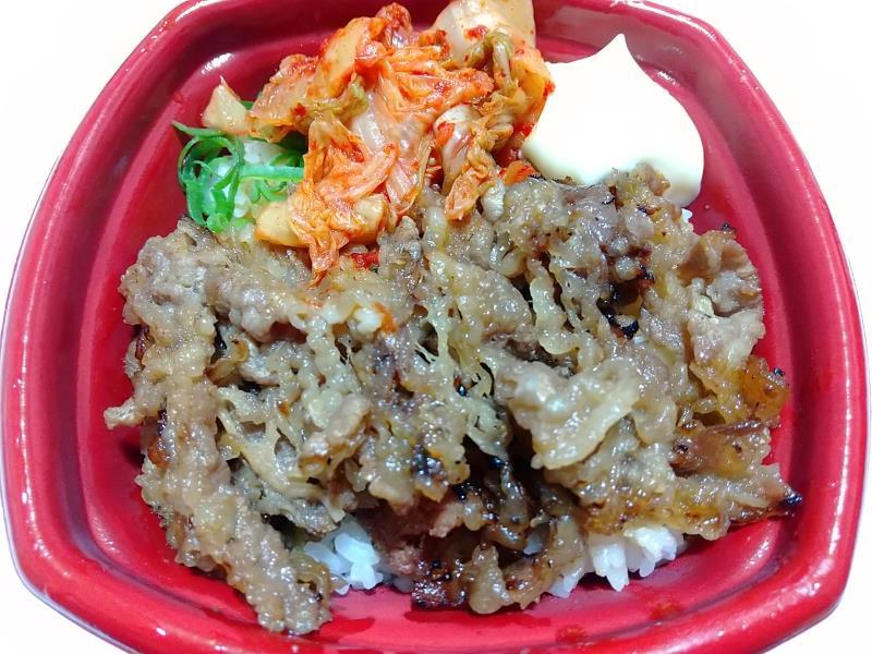韓丼のキムチカルビ丼