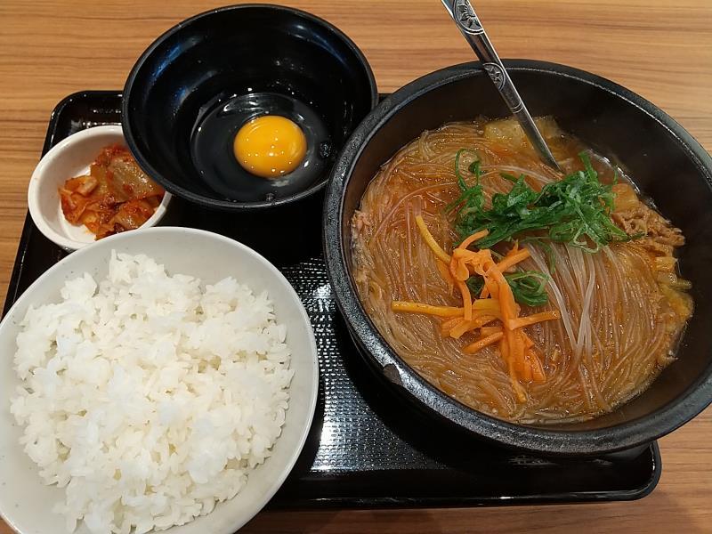韓丼のすき焼き鍋定食