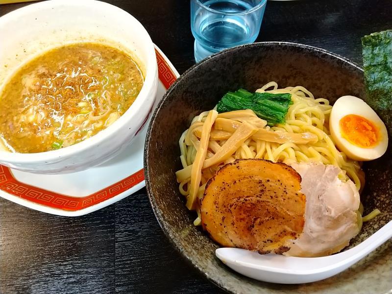 浜田屋の味噌つけ麺