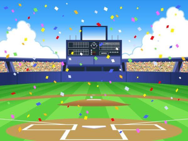プロ野球のイラスト(イメージ)
