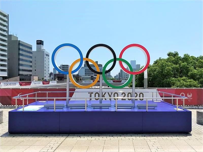 東京オリンピック2020のマーク