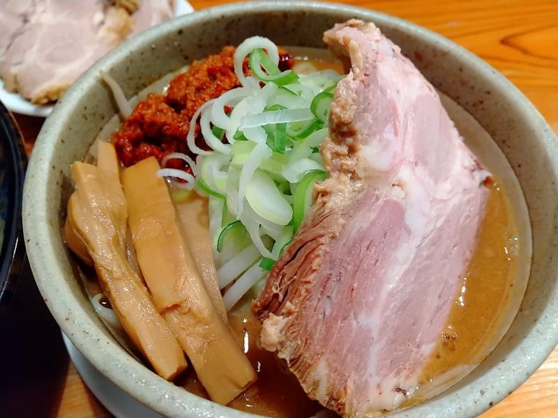 辛味噌のスープ